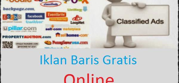 Pasang Iklan Gratis Online