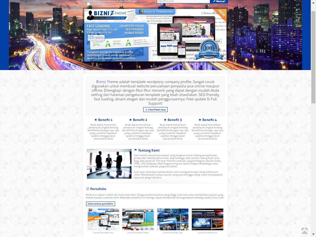 Desain Website Perusahaan Responsif Cepat Lengkap