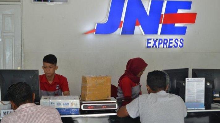 Perusahaan perusahaan jasa pengiriman di Indonesia juga ikut berpartisipasi