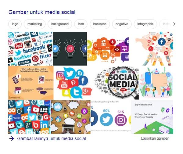 Mempromosikan artikel ke media sosial