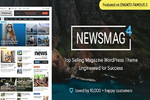 Newsmag News Magazine Newspaper Theme WordPress